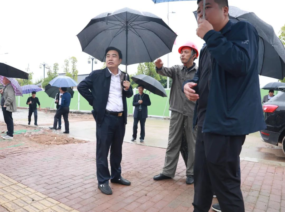 熊孙魁专题调研广信区环保项目建设