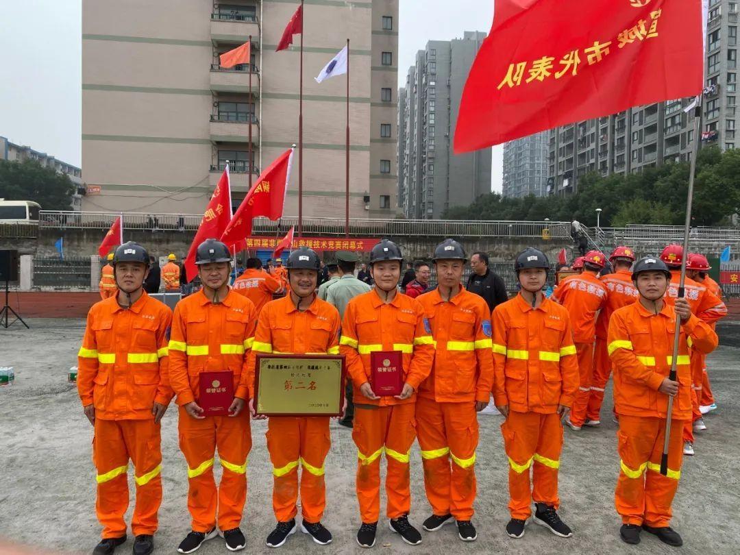 宣城代表队在安徽省第四届非煤矿山救援技术竞赛中创佳绩