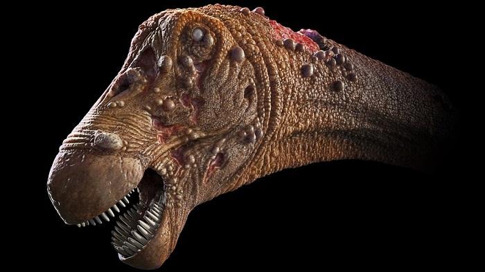 巴西科学家首次发现保存在恐龙化石骨骼内的血液寄生虫