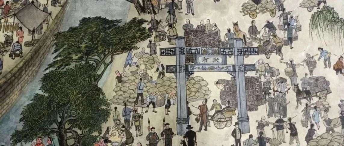 """视频丨蜗居陋室两年多,他画出了九江版""""清明上河图""""!"""
