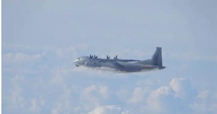 """台空军""""天龙操演""""第二天  3架大陆军机进入台湾西南空域"""