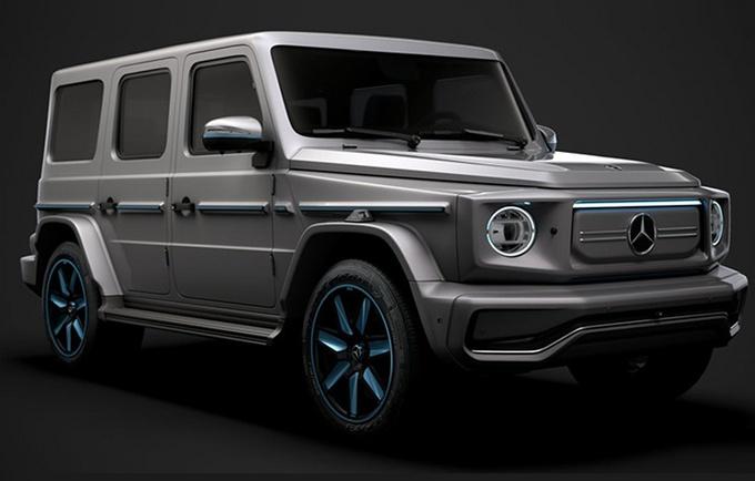 奔驰G级独立为子品牌!将推纯电动版等多款新车