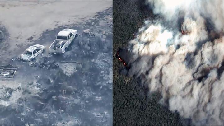 焚毁房屋居民撤离!实拍:美国科罗拉多州发生史上最严重野火