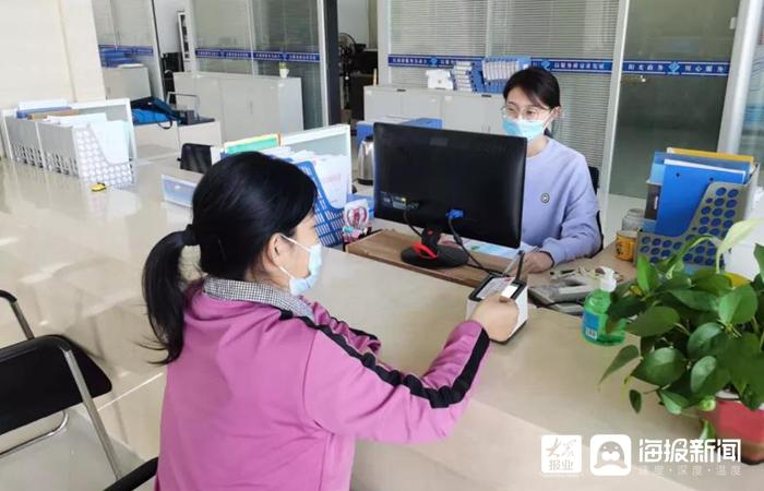 """东营港政务服务大厅实现电子身份证 """"亮证""""功能"""