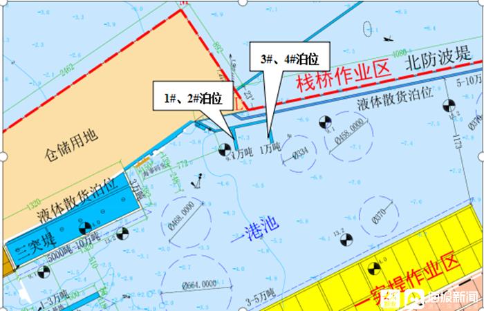 交通基础设施建设三年行动计划重点项目巡礼⑦ 东营港码头改扩建工程