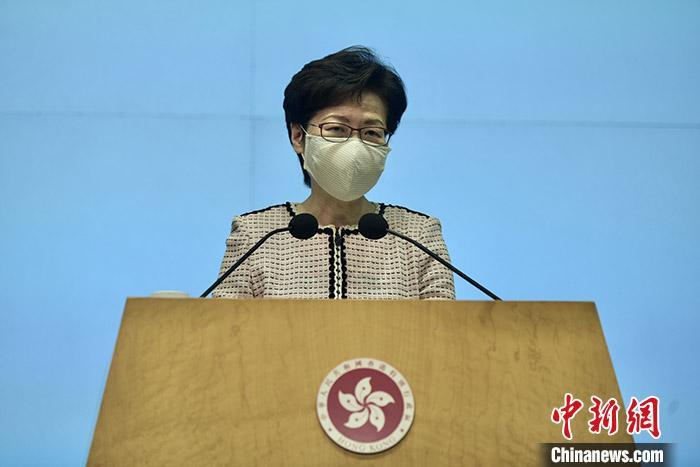 林郑月娥:暂时无条件大幅放宽社交距离防疫措施图片