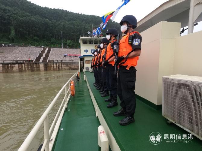 第98次中老缅泰湄公河联合巡逻执法启动