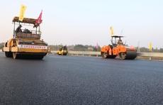 比预计工期提前半年!京沪高速改扩建蒙阴段双向八车道贯通