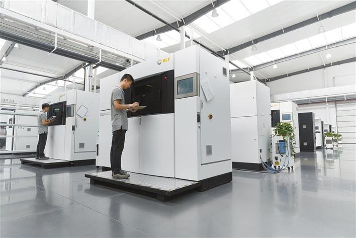 【凝心聚力高质量发展】铂力特:瞄准金属3d打印行业的世界前沿