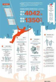 从数据分析报告看四川农民工去年收入