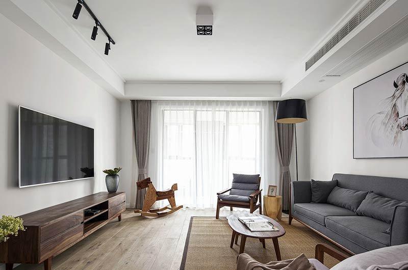 147平米中式风格四居室,预算20万,点击看效果图!