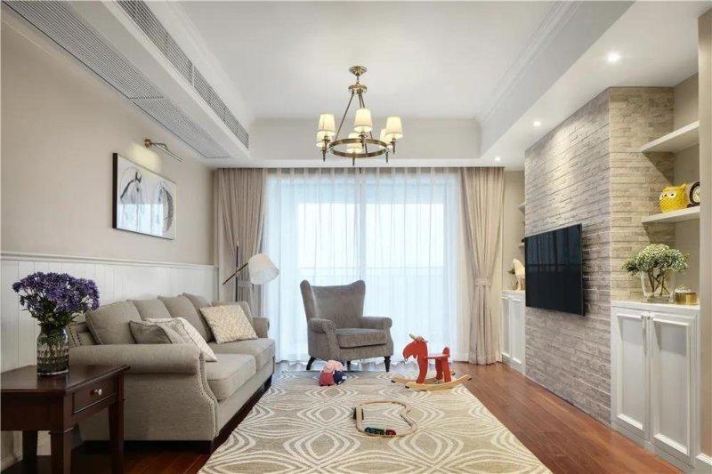 154平米四居室的简约风格案例,只花25万!