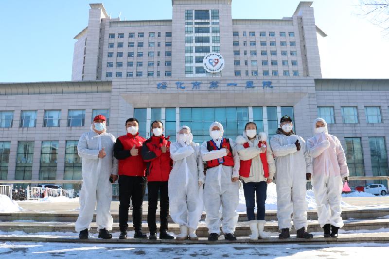绥化市爱心传递青年志愿者服务队:疫情中彰显志愿力量