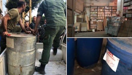 黎巴嫩贝鲁特市政府对市区内仓库进行安全隐患排查