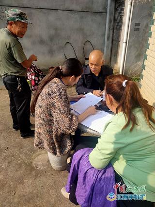 瑞昌市南阳乡同步进行人口普查、农村消防安全工作(图)