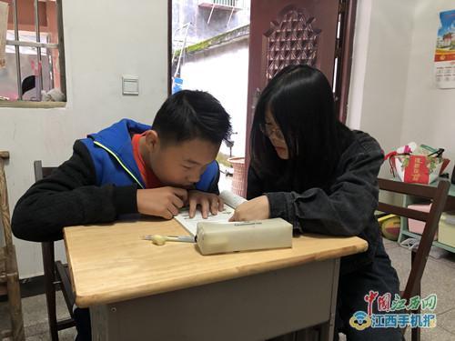 """乐安二小开展为残疾儿童""""送教上门""""活动(图)"""