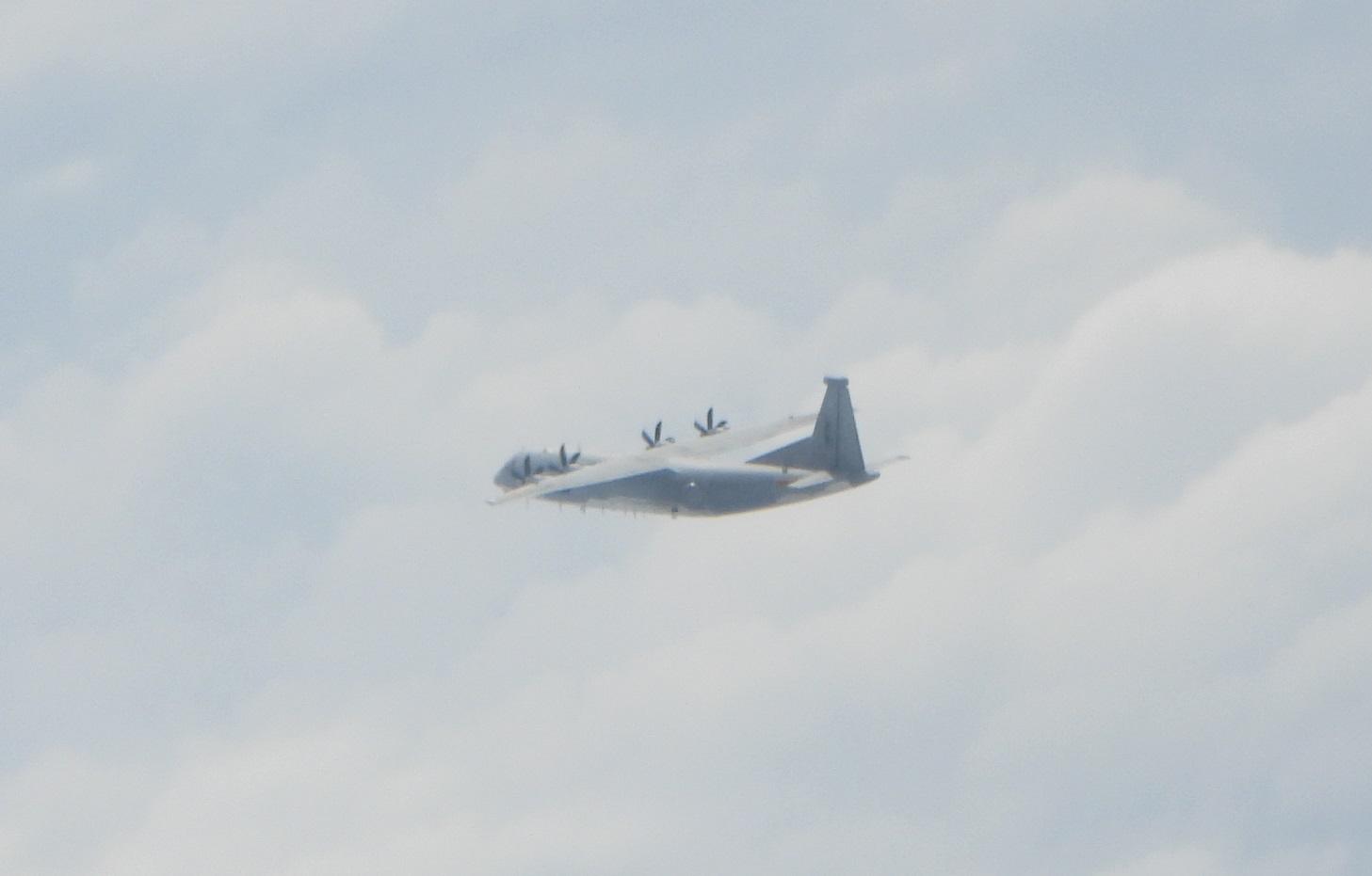 台军:今日解放军3架军机进入台湾西南空域图片