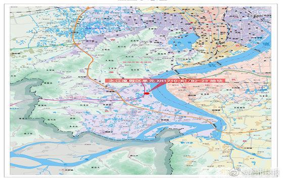 蚂蚁集团落子杭州之江 27亿元竞得大体量商业地块!