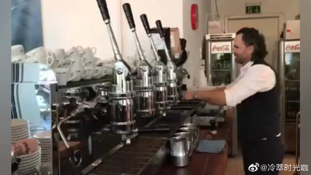 咖啡师必学技能,零基础咖啡拉花技巧