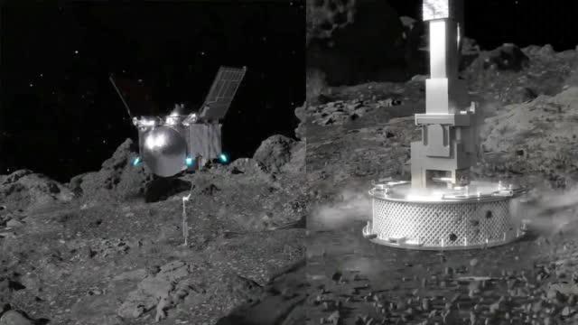 现场!NASA一探测器成功着陆小行星15秒并采样 操作画面曝光