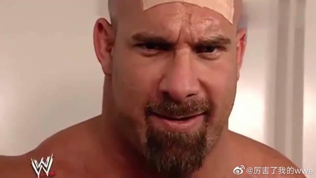 WWE:复仇的战神高柏恐怖如斯!进场瞬间秒杀HHH!