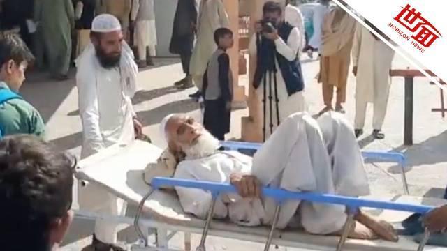 阿富汗民众因申签证发生踩踏事故