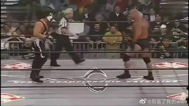 WWE:高柏VS大帝斯汀,此战之后高柏被摔迷称作战神!
