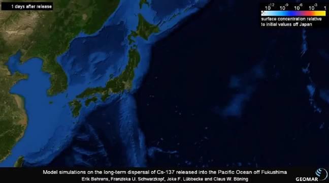 福岛核电站事故123万吨含有放射性物质氚的核废水……