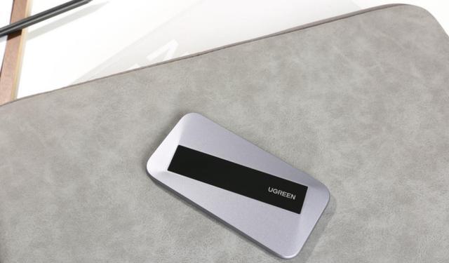 轻薄如卡片,绿联推出高颜值移动固态硬盘,传输速率6Gbps