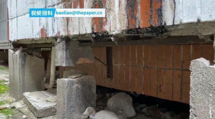 武汉一小区多栋住宅楼开裂沉降:疑为隔壁工地施工导致……