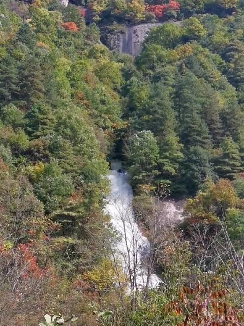 深秋的通天河山水,你去了吗 山峰秀,秋水长……