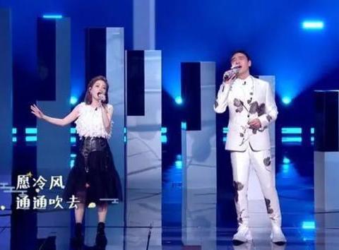 提莫与钟镇涛成中国风组合,声音甜美让人称赞,网友:实力女唱将