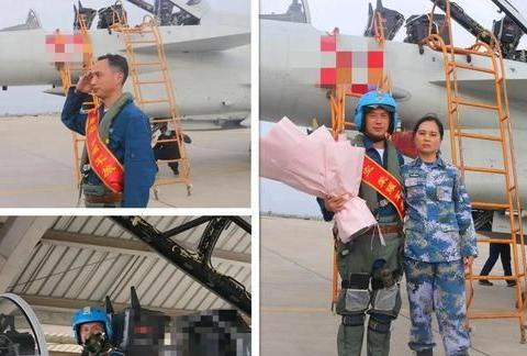 东部战区特级飞行员泪别战鹰!飞了3200多小时,妻子也已是上校