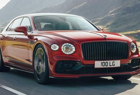 新车速递|目前接受预定 宾利新款飞驰V8车型发布