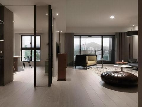 156平4室现代居,柜体取代实墙间隔,多一份专属一家人的居家温度