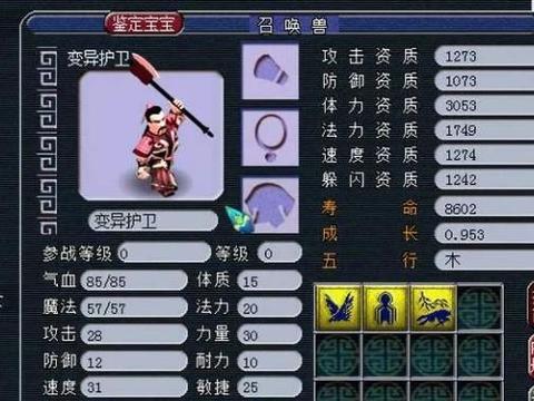 梦幻西游:变异护卫一样稀有的道具,老王叫多看看,系统马上收回