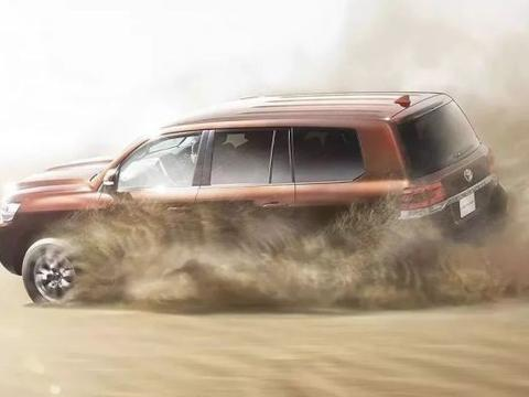 全新丰田兰德酷路泽渲染图  未来将推出GR运动版