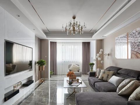 阳新碧桂园云镜143㎡现代风格3室2厅装修设计效果