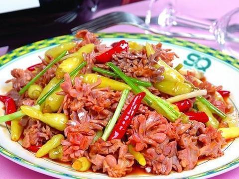 家常美食:柠檬蜂蜜鸡,豆干炒秋葵,野山椒炒鸡胗