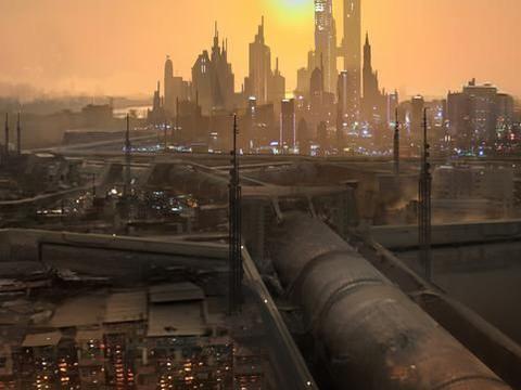 充满未来感的一组科幻场景插画作品欣赏!佩服作者们丰富的想象力