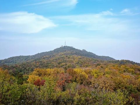 栖霞山景色瑰丽,尤其是秋天,美得让人无法自拔