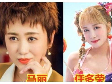 中韩明星撞脸,关晓彤毫无违和感,蒋梦婕在模仿,孙千像亲姐妹!