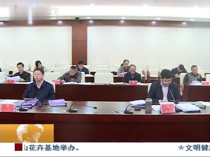 市人大常委会举行第二十八次党组(扩大)会议