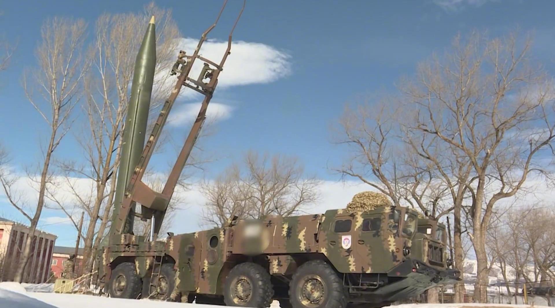 """罕见的亚美尼亚""""飞毛腿""""弹道导弹"""