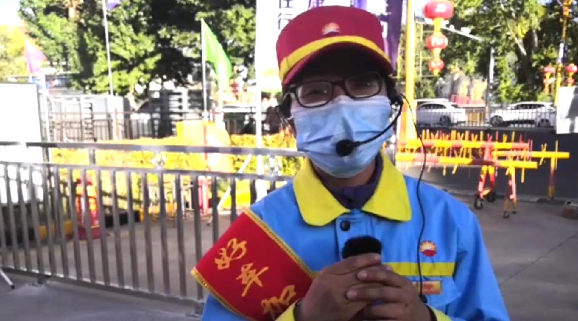 """为西藏小康加油——布宫脚下加油站开出最美""""格桑花"""""""
