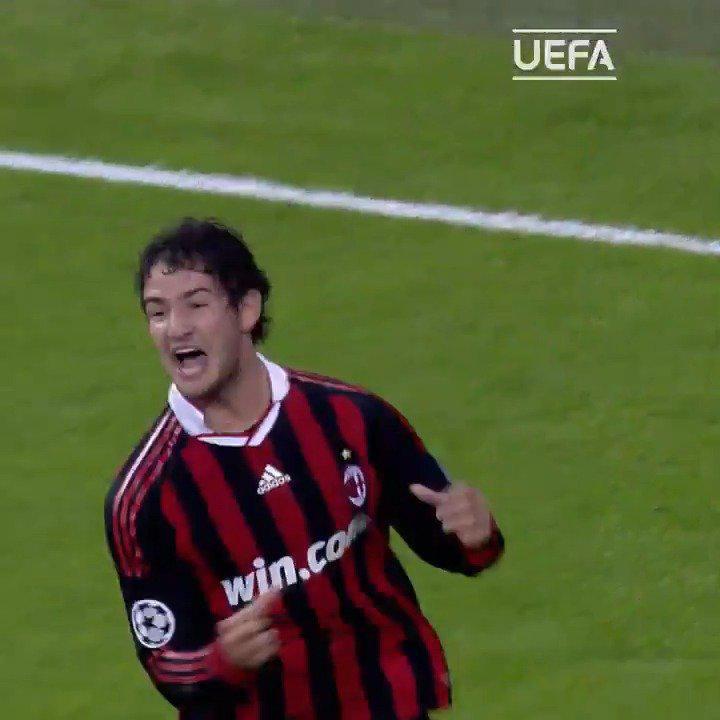2009年的今天,AC米兰欧冠客场3-2击败皇马