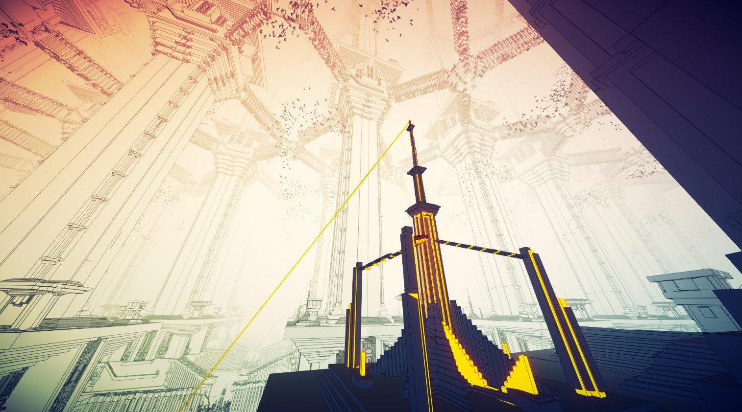 超现实解谜游戏《Manifold Garden》现已上线Steam……