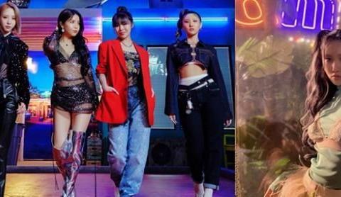 MAMAMOO率先公开新歌MV,华莎破格造型被赞爆