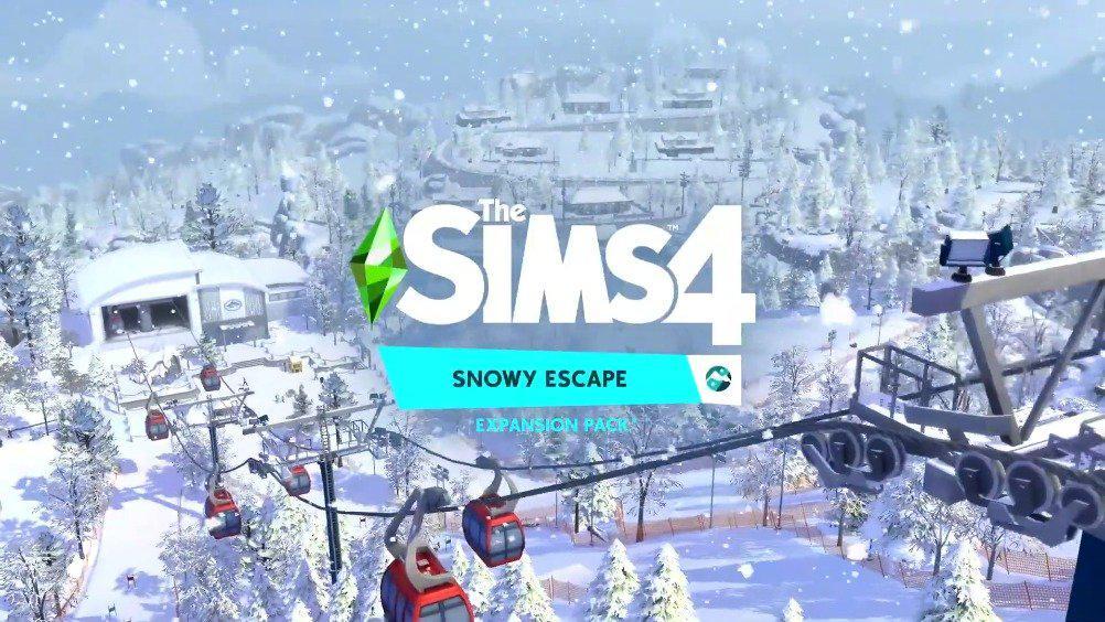 """EA《模拟人生4》最新资料片""""雪境仙踪""""宣传片公开……"""