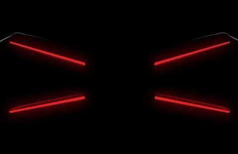 或1578马力 布加迪发布全新超跑预告图 或搭8.0升W16发动机